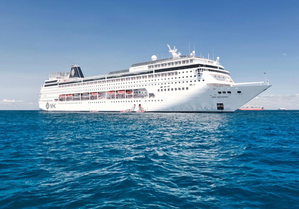 Cruise aboard MSC Sinfonia to No Where- 2 Nights