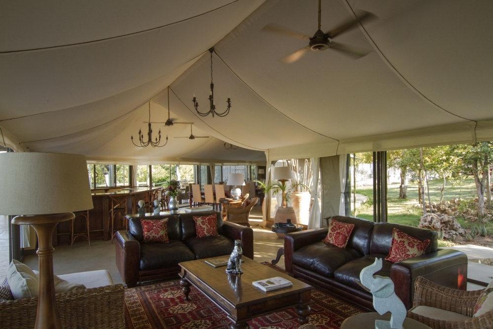 5* The Elephant Camp - Victoria Falls - 3 Nights